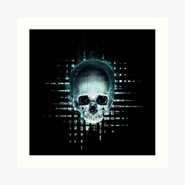 Skull 09 Impression artistique