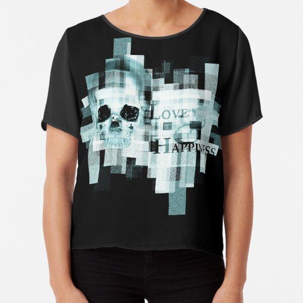 Skull 12 Top mousseline