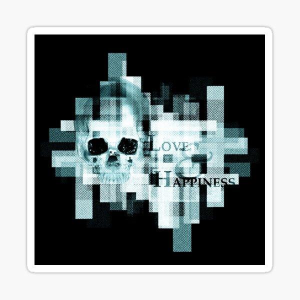 Skull 12 Sticker