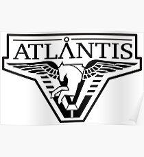 Stargate Atlantis-Logo Poster