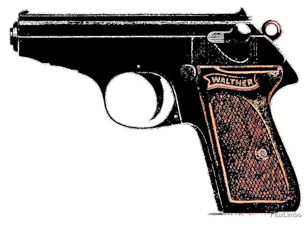 Walther PPK 7.65mm  by FluxLimbo