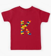 K t-shirt Kids Clothes