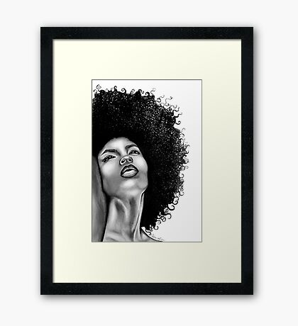 Lola - The Beauty Collection Framed Print
