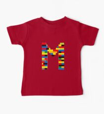 M t-shirt Kids Clothes
