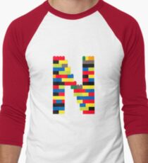 N t-shirt Men's Baseball ¾ T-Shirt