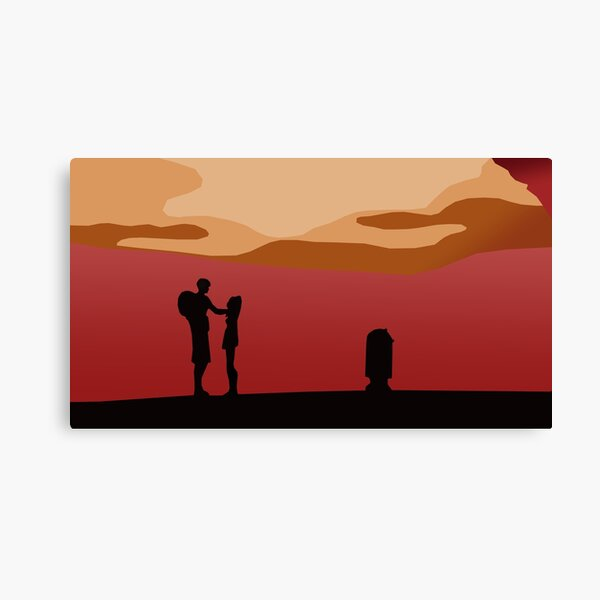 It Is The Will Of The Force I Am By Your Side Canvas Print
