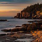 Otter Cliffs II by Gary Lengyel