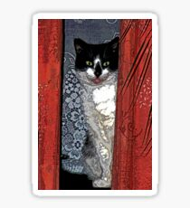 Charlie Barley (the cat) [FluxLimbo] Sticker