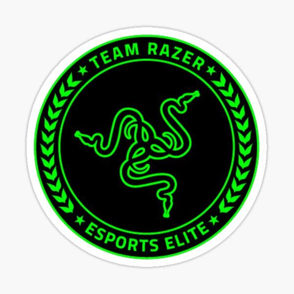 Kit de equipo Razer Pegatina