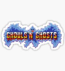 Ghouls n Ghosts  Sticker