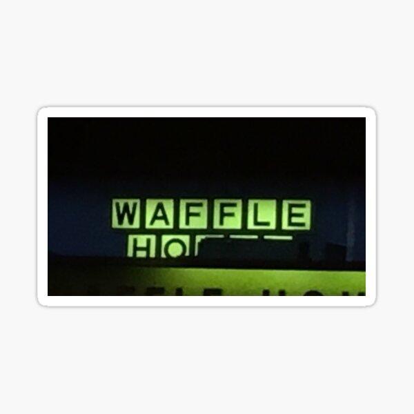 Waffle Ho Sticker