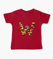 W t-shirt Kids Clothes