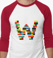 W t-shirt Men's Baseball ¾ T-Shirt