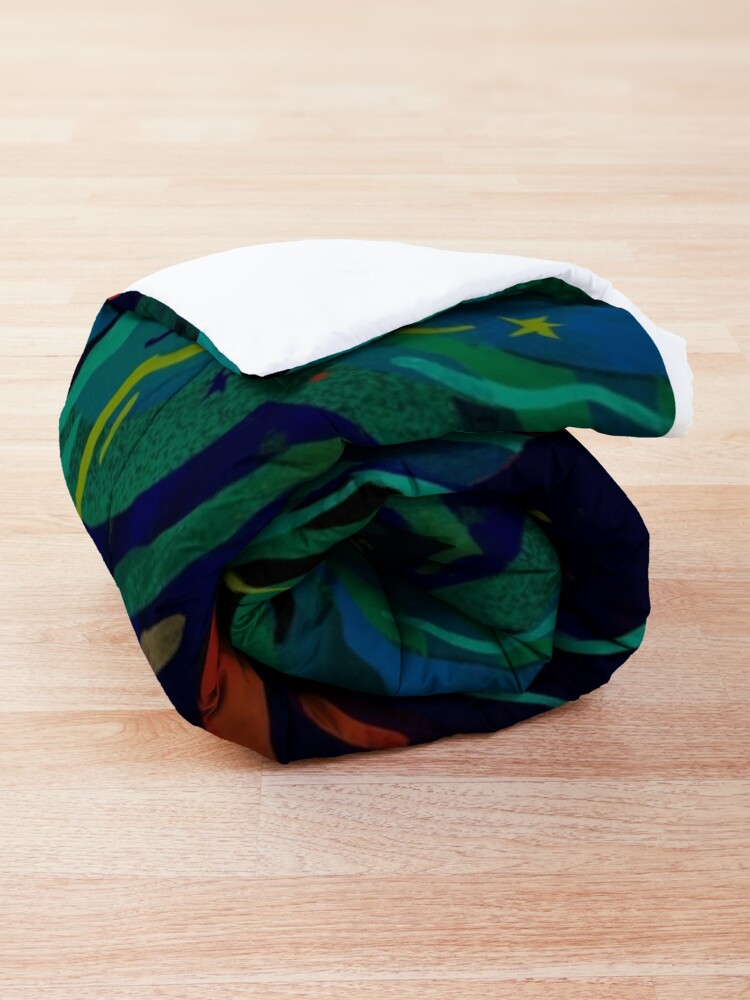 Alternate view of Caterwauling Comforter