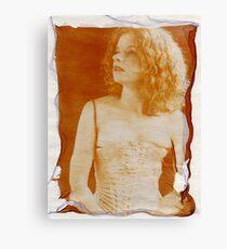 floating emulsion Canvas Print