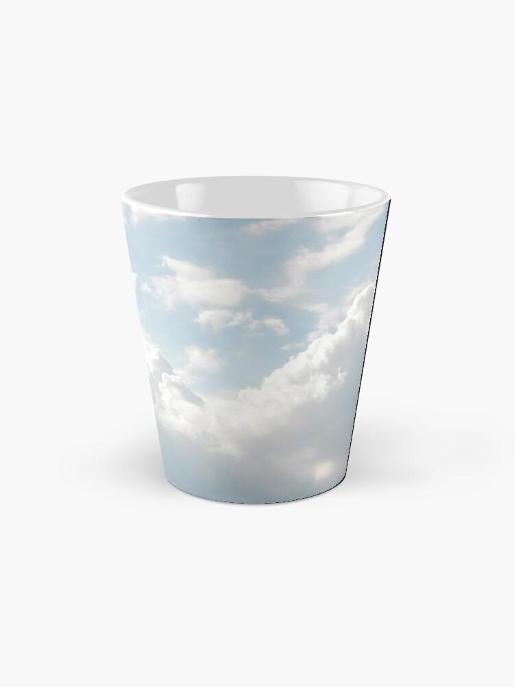 Alternate view of White clouds Mug