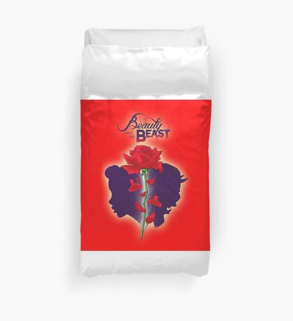 Beauty And The Beast Duvet Covers Redbubble