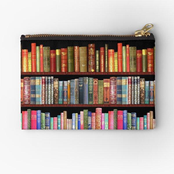Jane austen antique books, British antique books Zipper Pouch