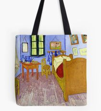 The House, Van Gogh Tote Bag