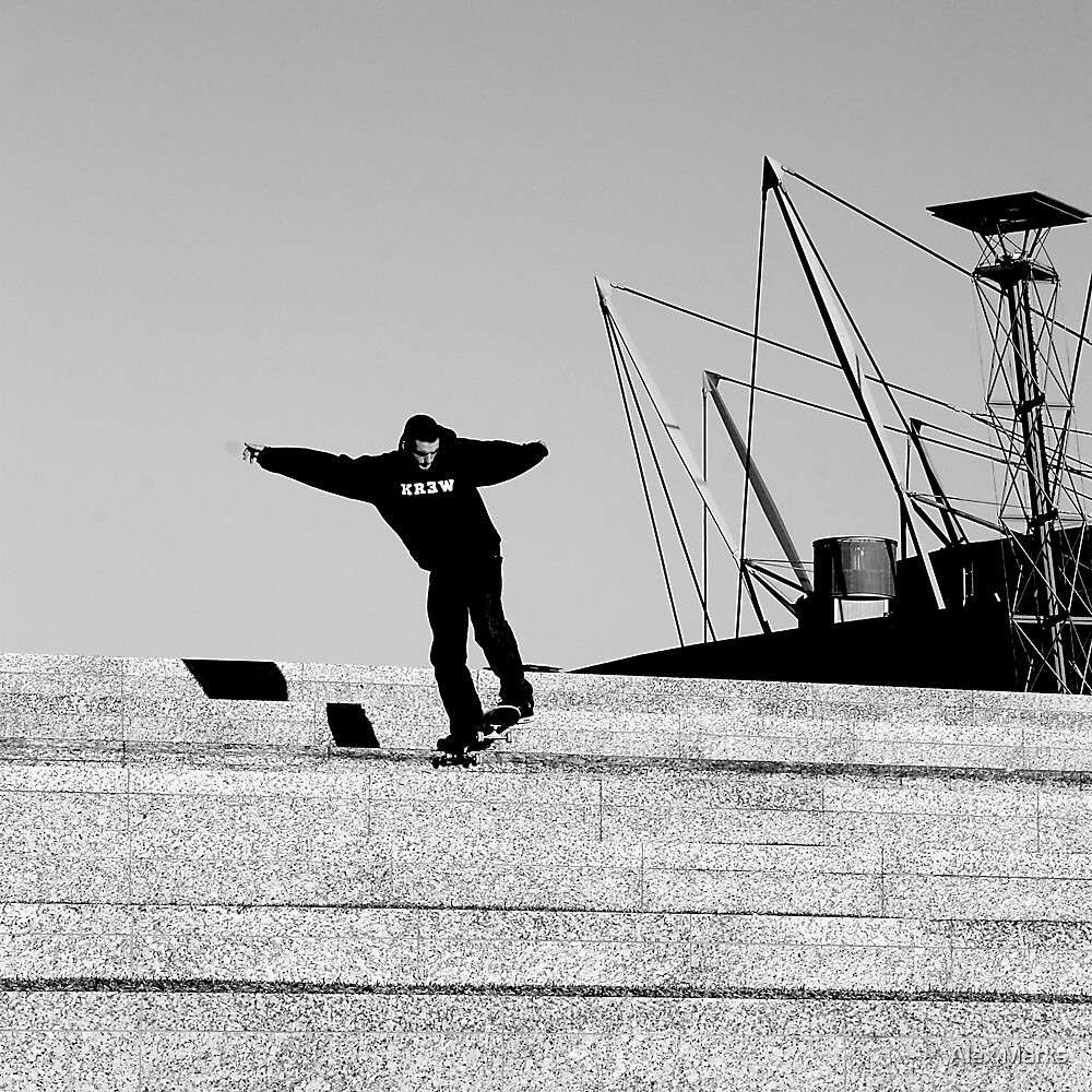olympic tailslide by Alex Marks
