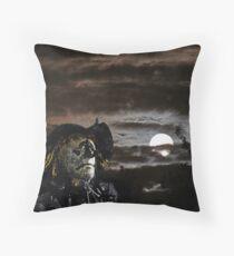 The Scarecrow of Romney Marsh [FluxLimbo] Throw Pillow