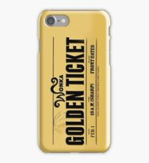 Golden Ticket iPhone Case/Skin