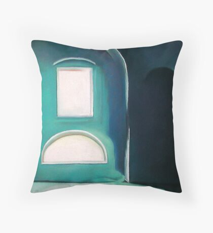 blue room Throw Pillow