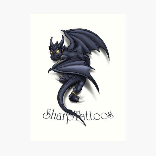 Dragon/Gargoyle Art Print