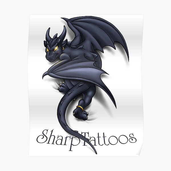 Dragon/Gargoyle Poster
