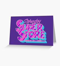 Saturday Superstore Greeting Card