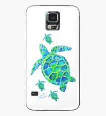 Sea Turtle with babies Case/Skin for Samsung Galaxy