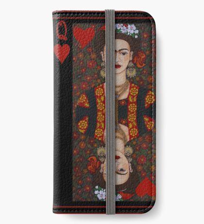 Frida,  Queen of Hearts II iPhone Wallet