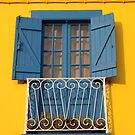 Yellow Blue House by TalBright