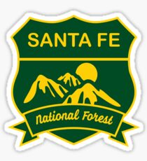Santa Fe National Forest Sticker