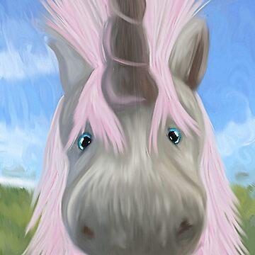 Unicorn Glow by FaeryHuggles