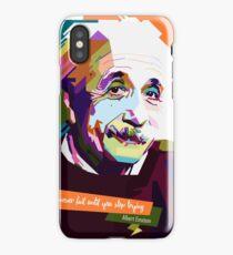 Albert Einstein iPhone Case