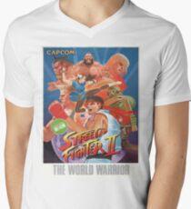 Frank Street Fighter  Men's V-Neck T-Shirt
