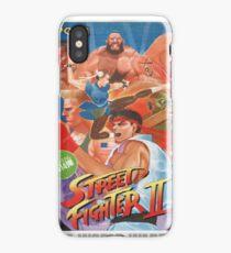 Frank Street Fighter  iPhone Case/Skin