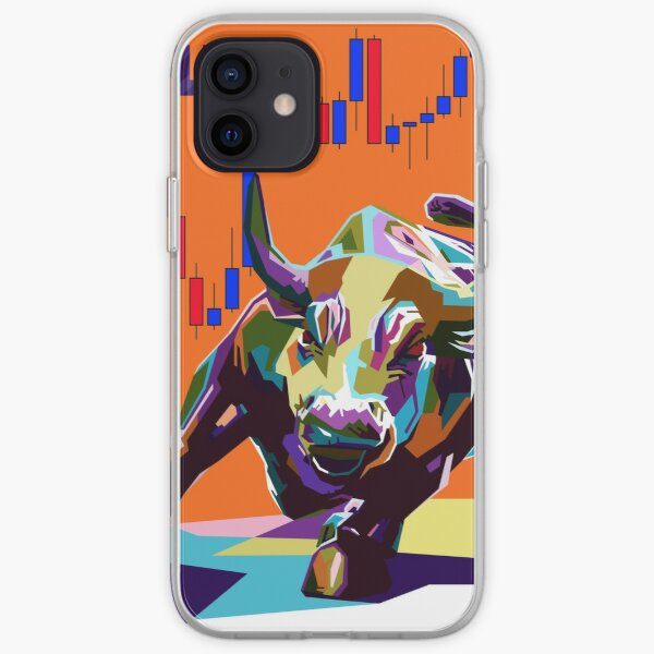 Bull of Wall Street iPhone Soft Case
