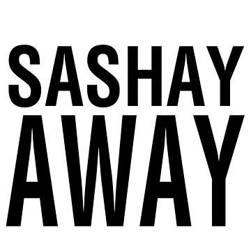 SASHAY AWAY (BLK) by jessicaevans