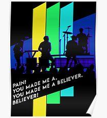 Imagine Dragons - Believer Poster