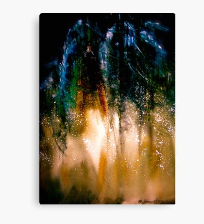 Among The Pines Canvas Print