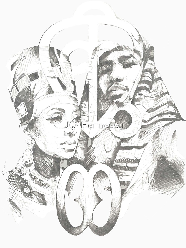 African King And Queen Unisex T Shirt By Jq Hennessy Redbubble