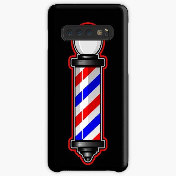 Barber Pole Hair Cut Samsung Galaxy Snap Case