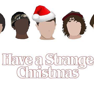 strange christmas. by glitteredgold