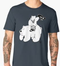 Cowboy Bear - Alternative Men's Premium T-Shirt