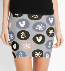 Round icon Mini Skirt