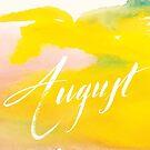 August by almahoffmann