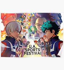 U.A. Sports Festival Poster