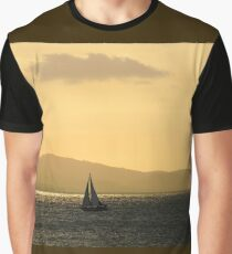 Sailing The Golden Sea Graphic T-Shirt